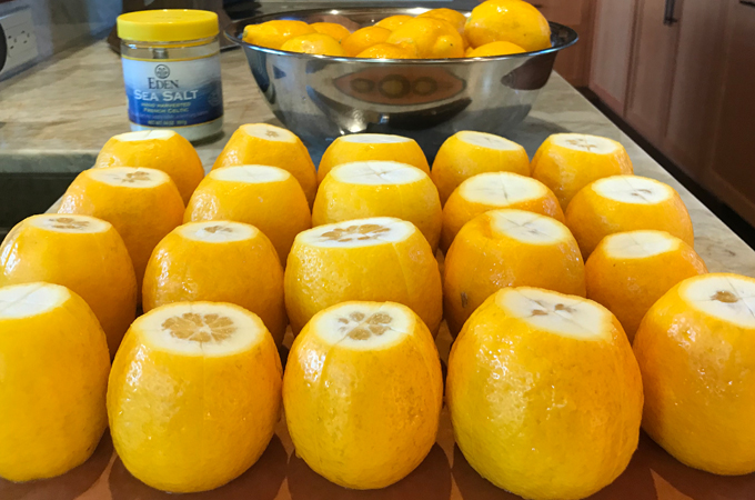 preserved lemons process