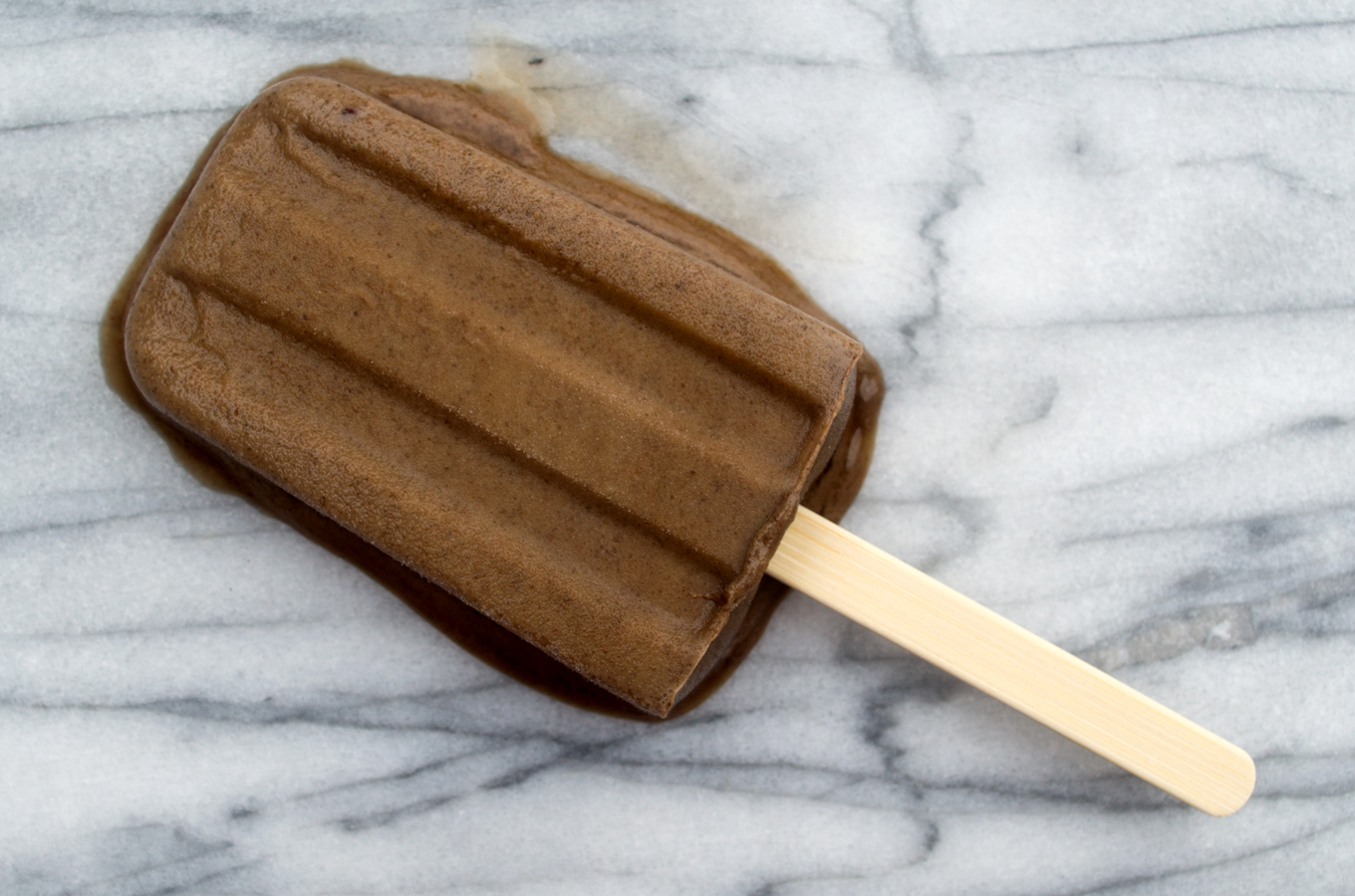 Cold Brew Coffee Popsicle Melting