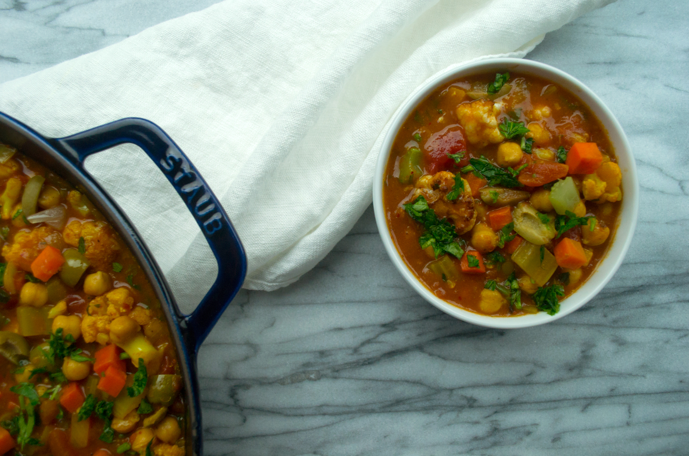 Moroccan-Spiced Stew