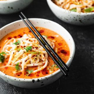 Spicy Udon Noodle Souo