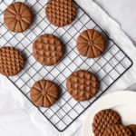 Coffee Hazelnut Shortbread Cookies