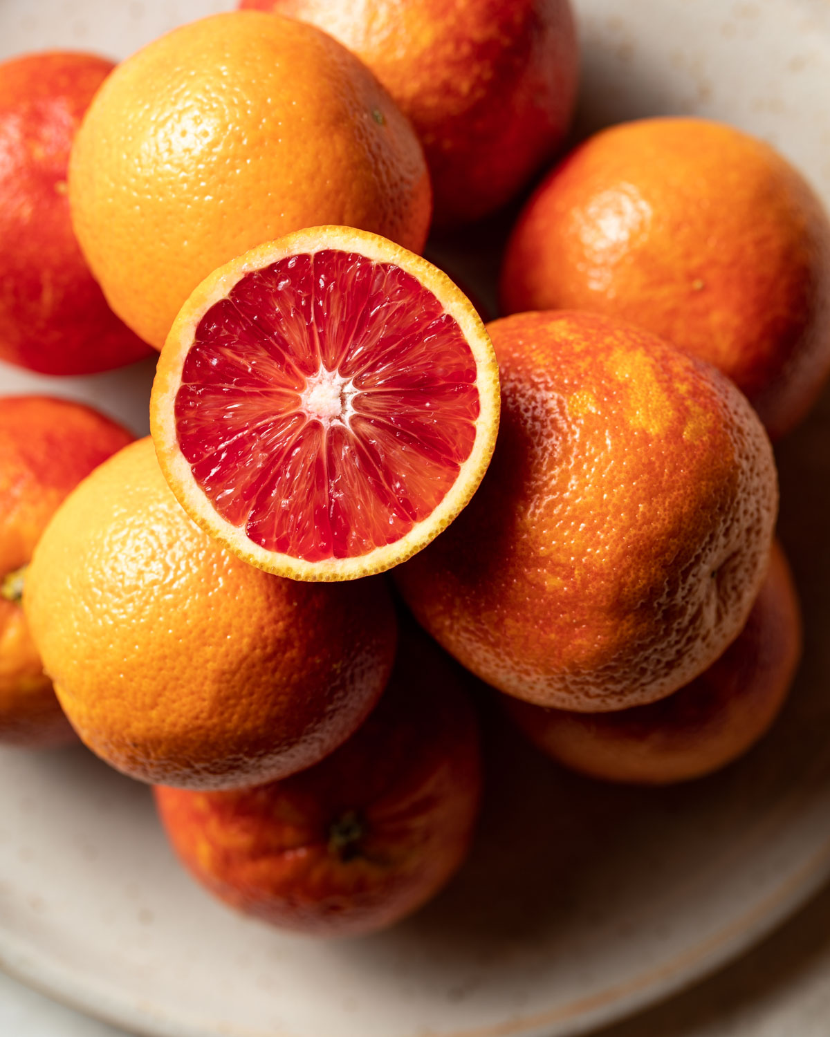 Vibrant blood oranges make a perfect topping for a buckwheat breakfast bowl.